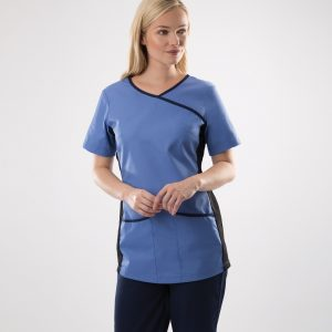 Cleaners Stretch Scrub Top