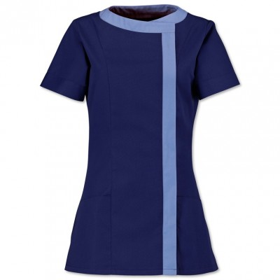 Maid uniforms shop online for a wide range of housekeeping uniforms asymmetric cleaners tunic publicscrutiny Choice Image