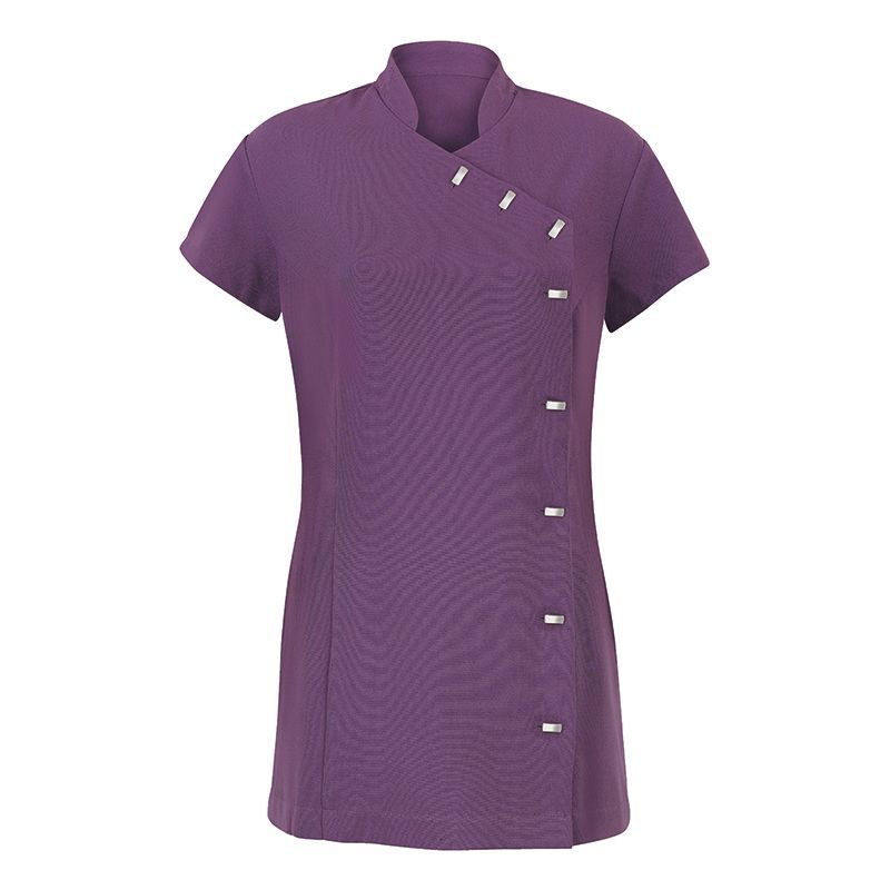 Easy care wrap cleaning tunic cleaners tunics online shop for Spa housekeeping uniform