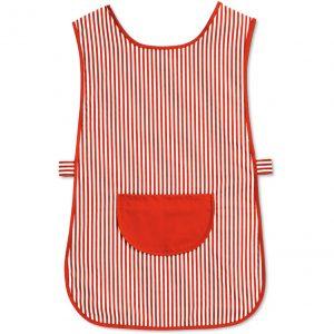 Striped Cleaning Pocket Tabard
